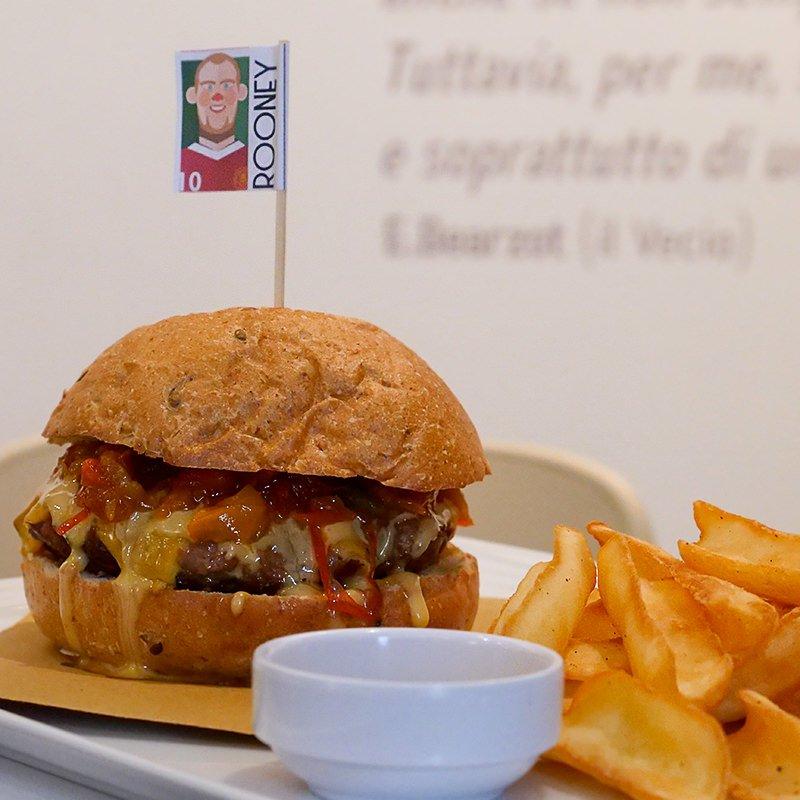 FoodBallPub Hamburger Menu Padenghe Sul Garda